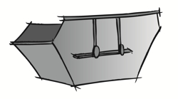 Illustration Absetzcontainer